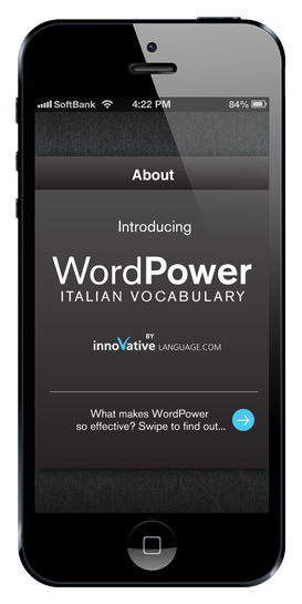Best Italian Words & Phrases App - WordPower Italian